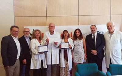 El Hospital General de Valencia obtiene un sello de calidad por su información a pacientes con cáncer de mama