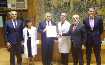 Oncohealth, el instituto oncológico de la Fundación Jiménez Díaz, recibe la acreditación QOPI en reconocimiento a la excelencia de la atención que ofrece a sus pacientes