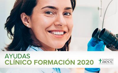 AECC- Ayudas a Formación para Profesionales Clínicos 2020
