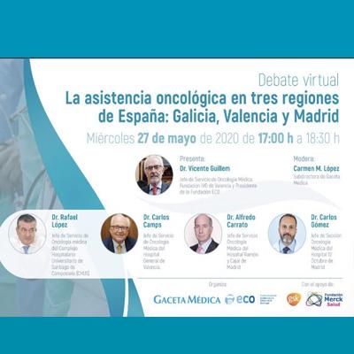 La Asistencia Oncológica en Tres Regiones de España: Galicia, Valencia y Madrid