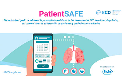 """Nace el proyecto """"PatientSAFE"""", para mejorar la calidad asistencial de los pacientes con cáncer de pulmón"""